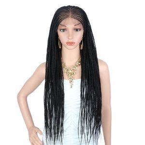 """Accessories - 31"""" Braided lace front wig"""